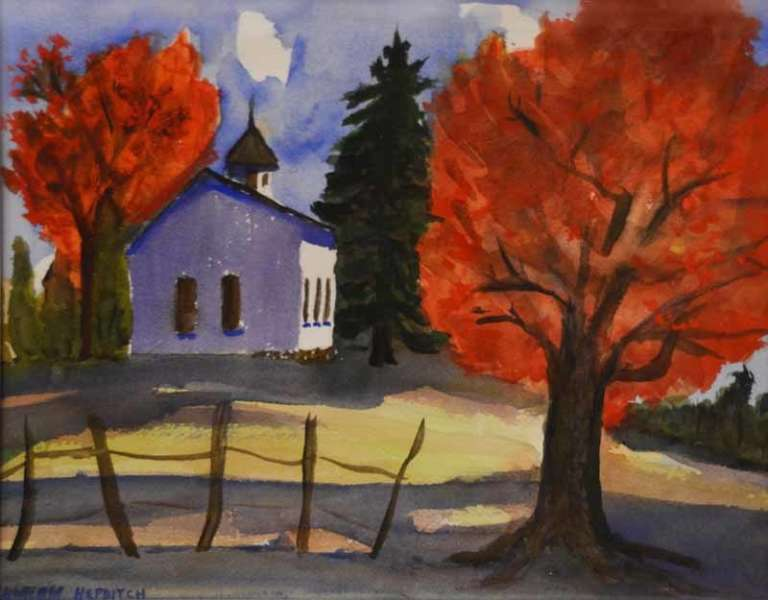 Sharon Hepditch - Church on Hapgood Road
