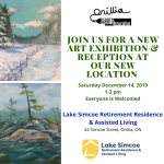 Opening Reception at the Lake Simcoe Retirement Residence