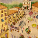 Market Day in Tuscany