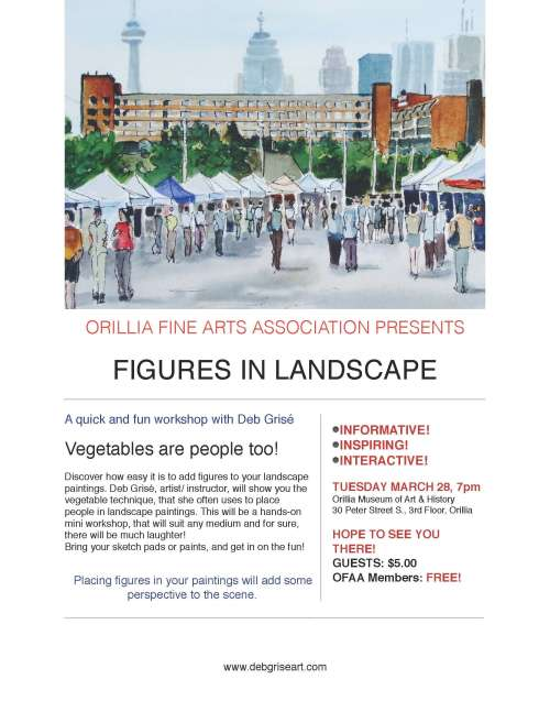 OFAA Presents FIGURES IN LANDSCAPE with Deb Grisé